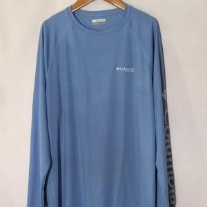 Columbia long sleeve shirt L